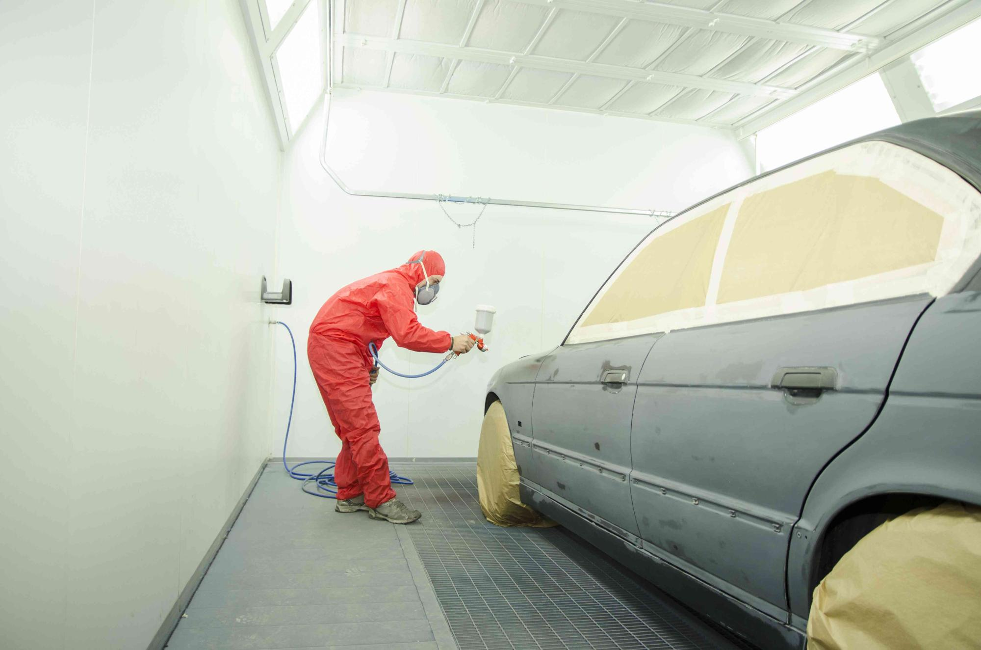 Kirby 39 s paint body your island body shop - Interior door spray painting service ...